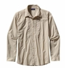 Patagonia Mens Long-Sleeved Sun Stretch Shirt Casitas: El Cap Khaki