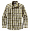 Patagonia Mens Long-Sleeved Sun Stretch Shirt Sespe: Ash Tan