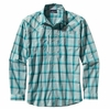 Patagonia Mens Long-Sleeved Sun Stretch Shirt Sespe: Tobago Blue (Spring 2014)