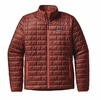 Patagonia Mens Nano Puff Jacket Cinder Red