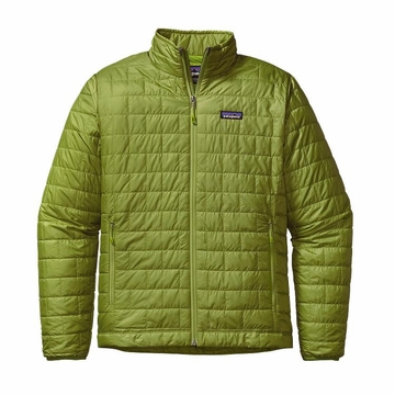 Patagonia Mens Nano Puff Jacket Supply Green Small