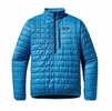 Patagonia Mens Nano Puff Pullover Electron Blue
