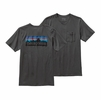 Patagonia Mens P-6 Logo Cotton Pocket T-Shirt Forge Grey