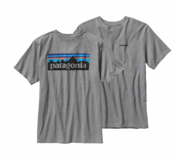Patagonia Mens P-6 Logo T-Shirt Gravel Heather (Spring 2014)