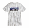 Patagonia Mens Patagonia Legacy Label Cotton/Poly T-Shirt White