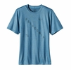 Patagonia Mens Polarized Tee Skipper Blue