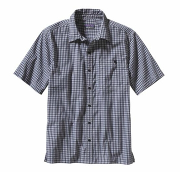Patagonia Mens Puckerware Shirt McNeil: Leaden Blue (Spring 2014)