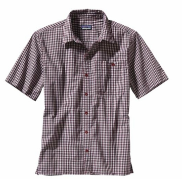 Patagonia Mens Puckerware Shirt McNeil: Wax Red (Spring 2014)