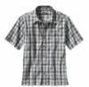 Patagonia Mens Puckerware Shirt Padre Juan: Feather Grey (Spring 2014)