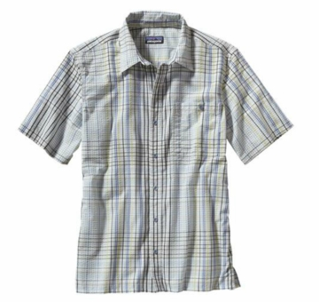 Patagonia Mens Puckerware Shirt Sisar: White (Spring 2014)