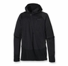 Patagonia Mens R1 Fleece Hoody Black