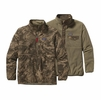 Patagonia Mens Reversible Snap-T Glissade Pullover Storm Front: Alpha Green