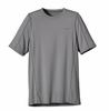 Patagonia Mens Short-Sleeved Outpacer Shirt Feather Grey (Spring 2014)