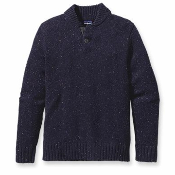 Patagonia Mens Speckled Crew Graphite Navy (Autumn 2013)