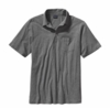 Patagonia Mens Squeaky Clean Polo Feather Grey (Spring 2014)