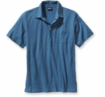 Patagonia Mens Squeaky Clean Polo Glass Blue (Spring 2014)