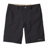 "Patagonia Mens Stretch Wavefarer Walk Shorts 20"" Black w/ Ask Tan"
