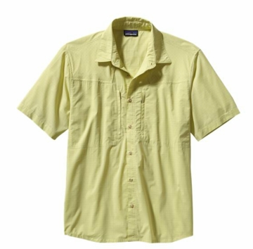 Patagonia Mens Sun Stretch Shirt Casitas: Folios Green (Spring 2014)
