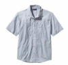 Patagonia Mens Sun Stretch Shirt Casitas: Leaden Blue (Spring 2014)