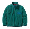 Patagonia Mens Synchilla Snap-T Fleece Pullover Arbor Green