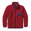 Patagonia Mens Synchilla Snap-T Fleece Pullover Classic Red