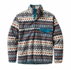 Patagonia Mens Synchilla Snap-T Fleece Pullover Cliff: Underwater Blue Small