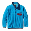 Patagonia Mens Synchilla Snap-T Fleece Pullover Electron Blue