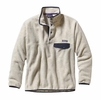 Patagonia Mens Synchilla Snap-T Fleece Pullover Oatmeal Heather Medium