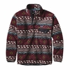 Patagonia Mens Synchilla Snap-T Fleece Pullover Saltillo: Cinder Red