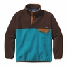Patagonia Mens Synchilla Snap-T Fleece Pullover Tobago Blue