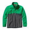 Patagonia Mens Synchilla Snap-T Fleece Pullover Tumble Green