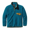 Patagonia Mens Synchilla Snap-T Fleece Pullover Underwater Blue
