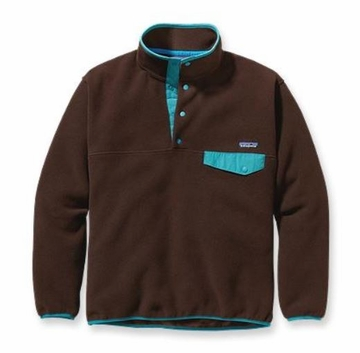 Patagonia Mens Synchilla Snap-T Fleece Pullover Java Brown