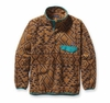 Patagonia Mens Synchilla Snap-T Pullover Montana Siete: Bear Brown