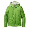 Patagonia Mens Torrentshell Jacket Cilantro w/ Forge Grey Large