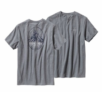 Patagonia  Mountain Frame Mens T-Shirt Gravel Heather (Past Season)