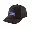 Patagonia P-6 Logo Roger That Hat Black