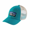 Patagonia P-6 LoPro Trucker Hat True Teal