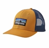 Patagonia P-6 Trucker Hat Ysidro Yellow