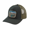 Patagonia Pointed West Trucker Hat Carbon