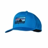 Patagonia Roger That Trucker Hat '73 Logo: Andes Blue