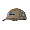 Patagonia Roger That Trucker Hat Fitz Roy Trout: Ash Tan