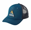 Patagonia Rollin' Thru Trucker Hat Big Sur Blue