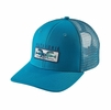 Patagonia Shared Vision Trucker Hat Grecian Blue