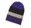 Patagonia Slopestyle Beanie Hat Huck Stripe: Tempest Purple