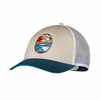 Patagonia Stained Glassy LoPro Trucker Hat Bleached Stone