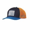 Patagonia Surf Van Trucker Hat Navy Blue