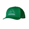 Patagonia Trucker Hat Mountain Sea Doodle: Tumble Green