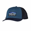 Patagonia Trucker Hat P-6 Glass Blue