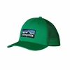 Patagonia Trucker Hat P-6 Tumble Green